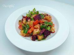Salată de legume fierte | Dia's Kitсhen Thing 1, Potato Salad, Vegetarian Recipes, Potatoes, Ethnic Recipes, Food, Salads, Vegetarische Rezepte, Eten