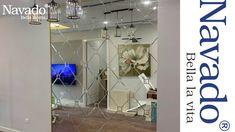 CĂN HỘ VINHOMES TRANG TRÍ GƯƠNG GHÉP Luxury Mirror, Room, Furniture, Home Decor, Bedroom, Decoration Home, Room Decor, Rooms, Home Furnishings