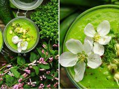 Delicious blog: Studený hráškovo-avokádový krém