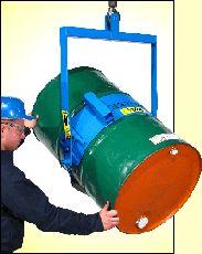 Below-Hook Drum Carrier