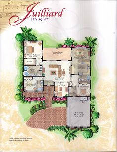 the Symphony Collection Juilliard Floor Plan in Solivita, Kissimmee FL
