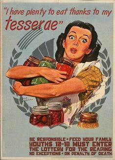I have plenty to eat thanks to my tesserae!