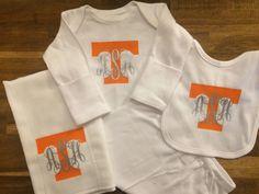 NEW Tennessee Vols Volunteers Baby Girls Dress Size 12M 12 Mo W// Headband