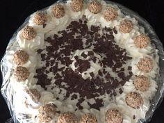 Mousse Au Chocolat Torte, Brownies, Food And Drink, Pie, Ethnic Recipes, Parfait, Gelato Cake, Cooking, Frozen Desserts