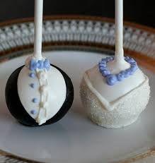 bride cakepops