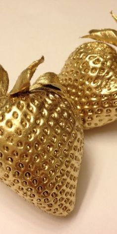 Golden Strawberries  | The House of Beccaria~