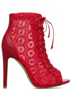 Sienna Lace Booties OMG I want these!!!!!!!!!!