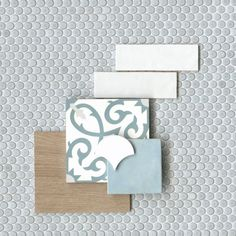 Browse our collection of decorative tiles perfect for an added design touch to your home or business. Shop our decorative and mosaic tiles now! Material Board, Ceramic Floor Tiles, Porcelain Tile, Encaustic Tile, Color Tile, Tile Patterns, Decoration, Home Remodeling, Flooring
