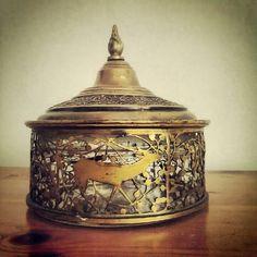 art nouveau sugar bowl