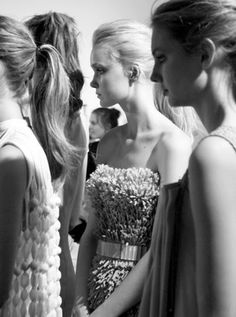 fashion, backstage