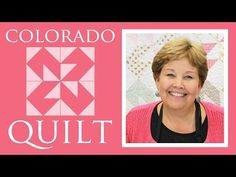 This is a great block. The Colorado #quilt #tutorial from the Missouri Star Quilt Company!