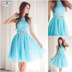 50iger Jahre Kleid burda