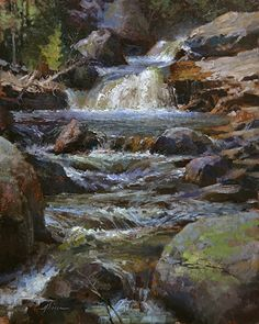 Jason Sacran - Copland Falls- Oil