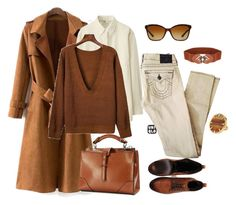 """""""outfit 5051"""" by natalyag ❤ liked on Polyvore featuring Uniqlo, Vince Camuto and Bulgari"""