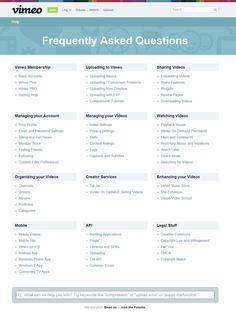 FAQ - examples