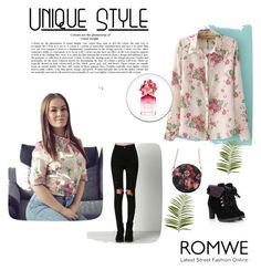 """""""Romwe 90"""" by zerina913 ❤ liked on Polyvore featuring Marc Jacobs, Pier 1 Imports and romwe"""