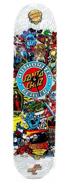 I checked out Santa Cruz Authorized Dealer Skateboard Deck Clock Limited Edition  on Lish, $99.99 USD