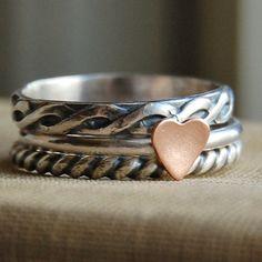 adorable stacking ring