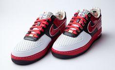 "Nike Air Force 1 Bespoke ""Scottie Pippen"" by Layupshot | NiceKicks.com"