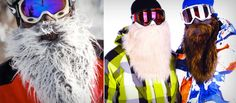 Beardski ski masks for skiing and snowboarding
