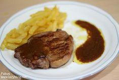 Solomillo con salsa de foie