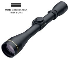 LEUPOLD VX-I 3-9x40 Rifle Scope Matte Duplex Reticle (56600)Our Price:$199.99   Quantity     Leupold's® standard multicoat lens system delivers exceptional brightness, clarity, and contrast.   The Duplex reticle gives you proper holdover points for your rifle's ballistics profile, allowing you to consistently make accurate, ethical long-range shots.   Micro-friction windage and elevation adjustment dials marked in ¼-MOA increments.   Features Leupold's classic lockable eyepiece for a secure…