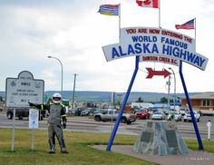 Alaska Highway was built by the Americans during WWII in a record time of 8 months. And we are talking about more than 1500 miles of road, crossing some very harsh terrain and weather.