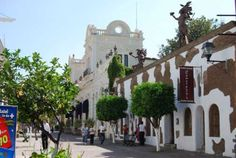 Tlaquepaque  a suburb really of Guadalajara...wonderful crafts and folk art