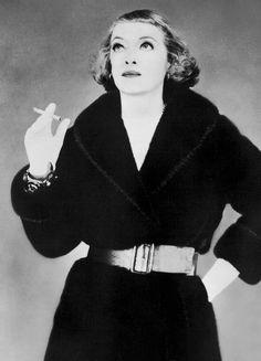 Bette Davis for Blackglama, 1968