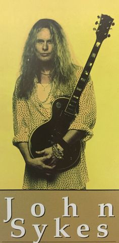 John Sykes   YOUNG GUITAR MAGAZINE April 2000  hope he is back.