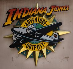 Indiana Jones Adventure Outpost - Disney World Indiana Jones Party, Indiana Jones Films, Indiana Jones Adventure, Henry Jones, Disney Scrapbook, Scrapbooking, Harrison Ford, Lost Art, Classic Movies