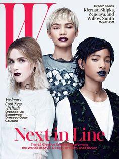 Юные звезды в W Magazine (Интернет-журнал ETODAY)