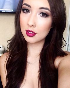Burgundy Lips by casandracuster. See more lip inspiration on #TheBeautyBoard #Sephora #lips #mouthoff