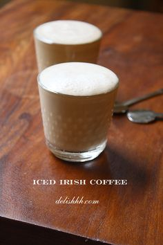 Even if i am not a big coffee drinker i love Irish Coffee, and it's also great drinking cold, just harder to mix the sugar in. You can always use honey as a substitute. Big Coffee, Irish Coffee, Coffee Break, Iced Coffee, Irish Whiskey, Fun Drinks, Yummy Drinks, Art Café, Cocktail Fruit