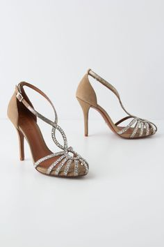 Fantasia Heels - Anthropologie.com ... boo, i love these. why cant i find flats that i love.