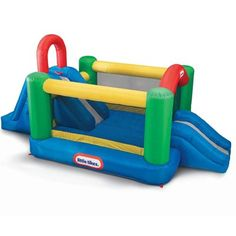 Take a look at this Little Tikes Jump & Double Slide Bounce House Set today! Inflatable Bounce House, Inflatable Bouncers, Inflatable Slide, Indoor Bounce House, Little Tikes, Bouncy House, Bouncy Castle, Toys R Us, Kids Toys