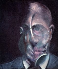 Francis Bacon, 'Portrait of Michel Leiris', Oil on canvas. © The Estate of Francis Bacon / DACS London All rights reserved. Francis Bacon Self Portrait, Francis Bacon Works, Michel Leiris, Centre Pompidou Metz, Pompidou Paris, Giacometti, Aberdeen Art Gallery, Guggenheim Bilbao, Kunsthistorisches Museum