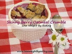 Berry Oatmeal Crumble – 219 calories