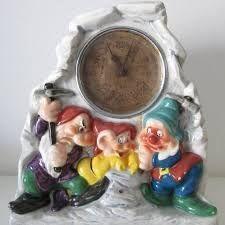 Snow White and the Seven Dwarfs Disney Zaccagnini Clock