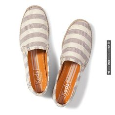 Neato - Honeymoon Essentials: Champion Jute Stripe Slip-On from Keds | CHECK OUT MORE IDEAS AT WEDDINGPINS.NET | #weddings #honeymoon #weddingnight #coolideas #events #forhoneymoon #honeymoonplaces #romance #beauty #planners #cards #weddingdestinations #travel #romanticplaces