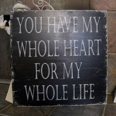 with my whole heart for my whole life tattoo - future tat with children's hand and footprints?