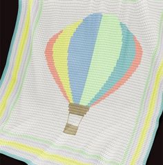 Crochet Pattern | Baby Blanket / Afghan - Balloon
