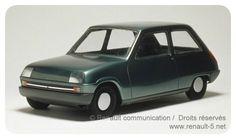 OG | 1972 Renault 5 - Project 122 | Scale mock-up