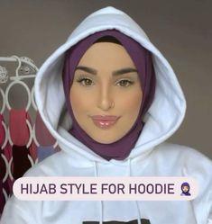 Modern Hijab Fashion, Street Hijab Fashion, Hijab Fashion Inspiration, Mode Inspiration, Hijab Turban Style, Mode Turban, New Hijab Style, Simple Hijab Tutorial, Hijab Style Tutorial