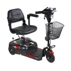 @Overstock.com - The Phoenix 3-wheel compact scooter provides users with indoor and outdoor independent mobility. The scooter can be disassembled into four easy-to-store and transport pieces.http://www.overstock.com/Health-Beauty/Phoenix-3-Wheel-Compact-Portable-Travel-Power-Scooter/7277561/product.html?CID=214117 $779.00
