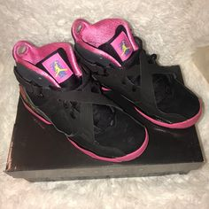 59f73b84d4a 33 Awesome Pink and black Jordans images