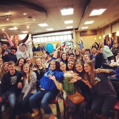 Young Life Club at Chick-Fil-A. They let us hold club there and allowed us to have a portion of the night's receipts for leader care.