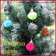 Pompom angels