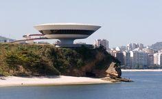 """Modern landmark architecture in Niteroi, Rio de Janeiro, Brazil."" (From: 33 Trip-Inspiring Photos of Brazil) #budgettravel #travel #brazil"