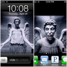 How to scare a whovian by handing them your phone